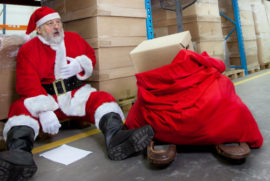 H&M involved in 850,000 pallet record breaking Christmas season!